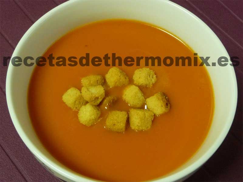 Gazpacho Thermomix
