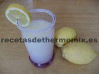 Como preparar granizado de limón con la Thermomix