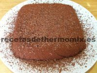 Marquesa de chocolate de Thermomix
