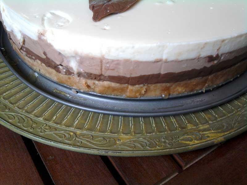 Receta tarta tres chocolates thermomix paso a paso