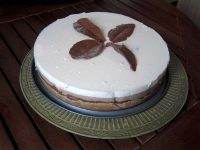 Tarta tres chocolates de Thermomix