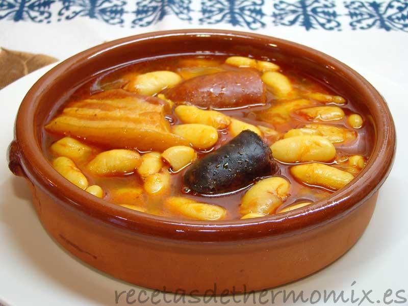 Fabada Asturiana Con Thermomix