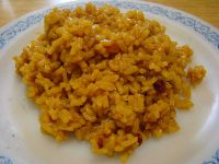 Arroz a banda de Thermomix