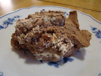 Receta de nata montada con chocolate
