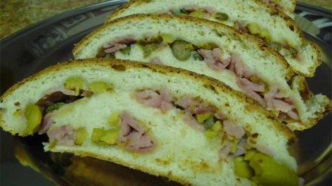 Receta de pan de jamon para Thermomix