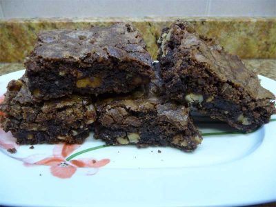 Receta de Brownie en Thermomix