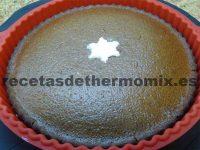 Bizcocho de chocolate sin huevo de Thermomix