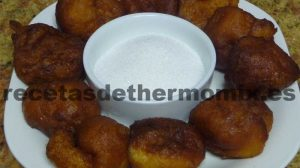 Recetas de buñuelos con Thermomix