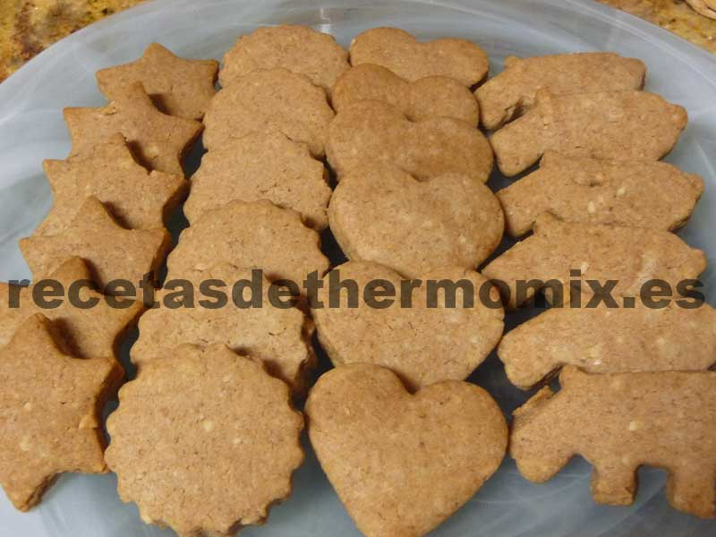 Mantecados de chocolate con Thermomix