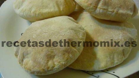 Recetas de panes de pita con thermomix