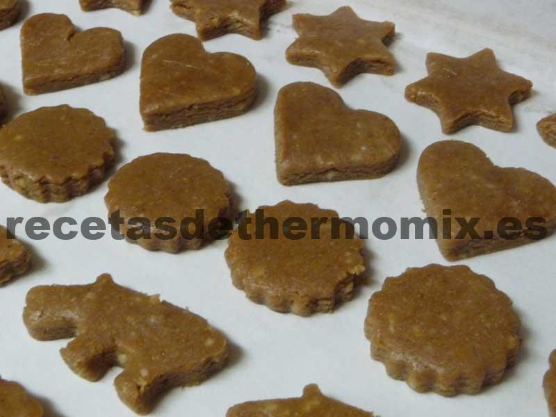Preparación mantecados de chocolate con Thermomix
