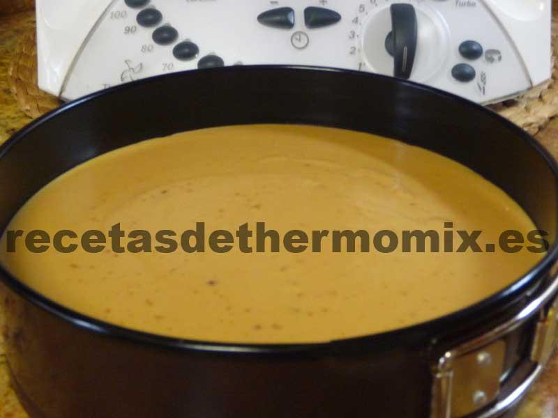 Como hacer tarta de turrón con Thermomix