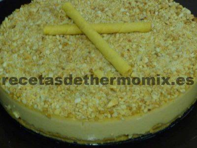 Receta de Tarta de turrón en Thermomix