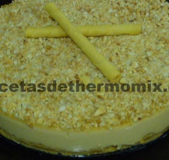 Recetas de tarta de turron con Thermomix