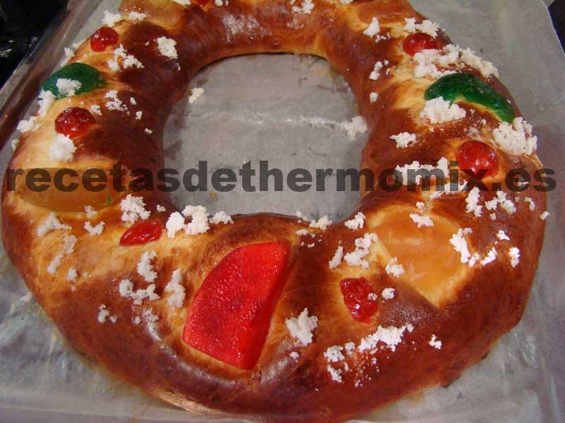recetas de roscón de reyes con thermomix