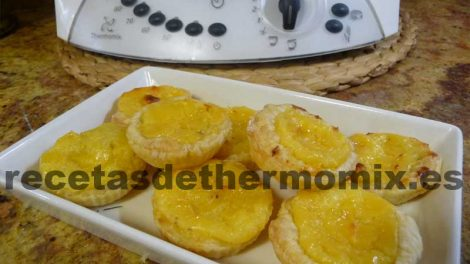 como preparar pasteles de belem con thermomix