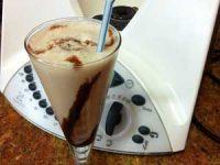 Batido de helado de Turrón de Thermomix