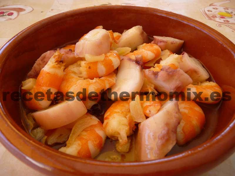 Recetas para cocinar langostinos al ajillo for Cocinar pulpo