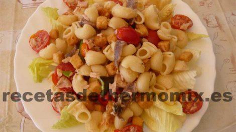 Receta de Ensalada de pasta con Thermomix