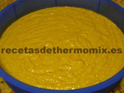 Preparación del pastel de zanahoria con Thermomix