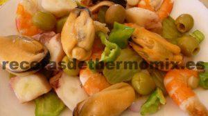Recetas de salpicón preparado con Thermomix