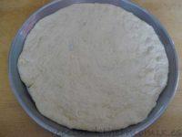 Masa de pizza de cebolla con Thermomix