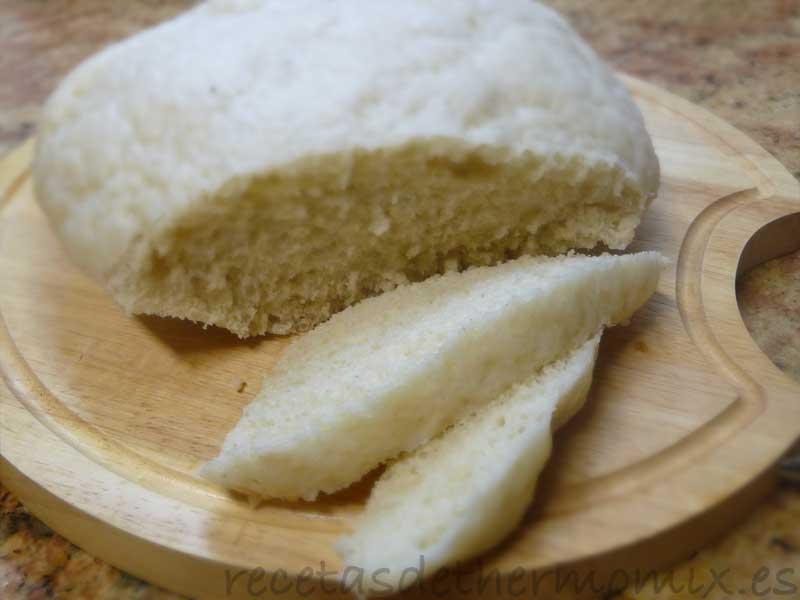 Receta de pan al vapor o pan chino con Thermomix