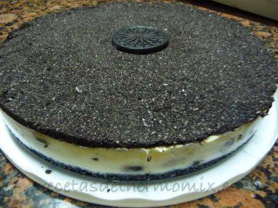 Receta de tarta de Oreo con Thermomix