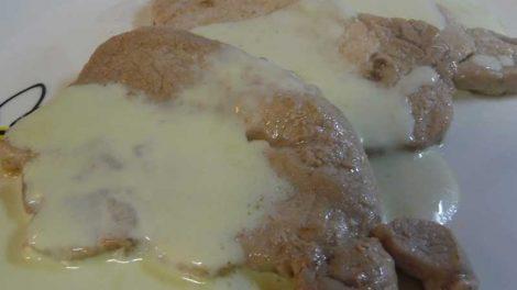 Lomo con queso azul para Thermomix