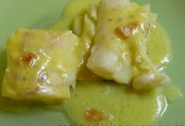 Bacalao al pil pil con Thermomix