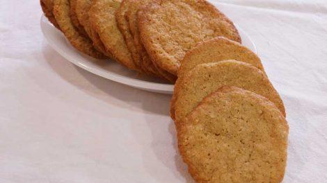 Receta de galletas de avena con el Thermomix