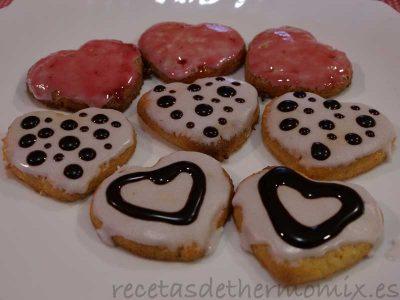 Pastas de San Valentín con Thermomix
