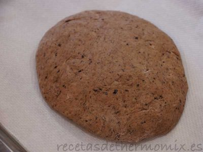 Como preparar pan de aceitunas con el Thermomix