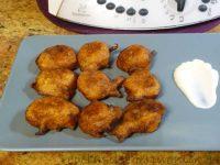 Buñuelos de bacalao con Thermomix