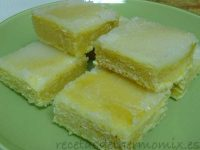 Bizcocho de limn glaseado de Thermomix