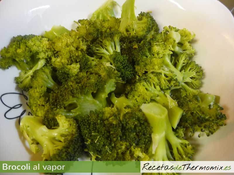 Brocoli al vapor Thermomix