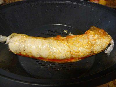 Como hacer pechugas de pollo rellenas de sobrasada con Thermomix