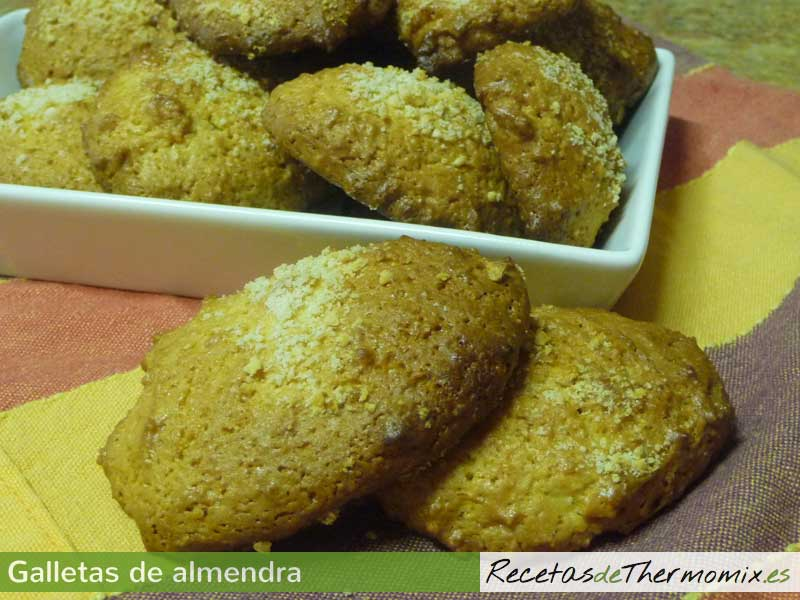 Galletas de almendra Thermomix