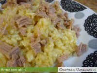 Arroz con atún Thermomix