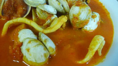 Sopa de pescado rápida