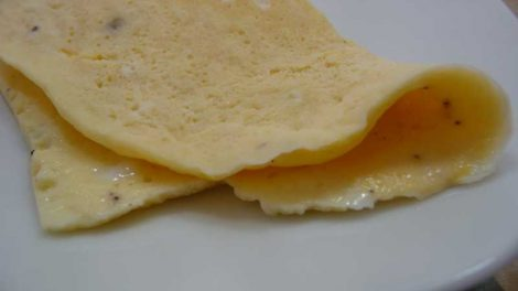 Tortilla a la francesa Thermomix