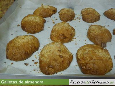 Galletas de almendra Thermomix pasos