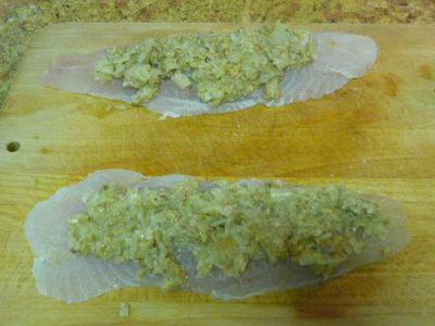 Como hacer filetes de panga rellenos con Thermomix