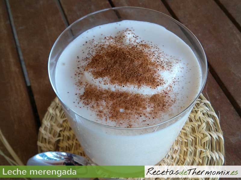 Leche merengada Thermomix