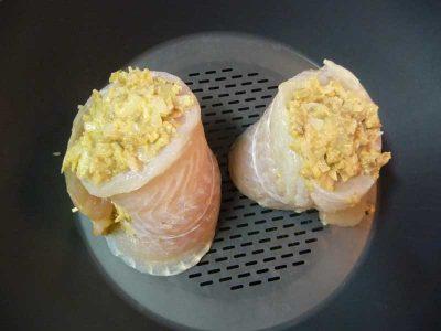 Filetes panga rellenos Thermomix