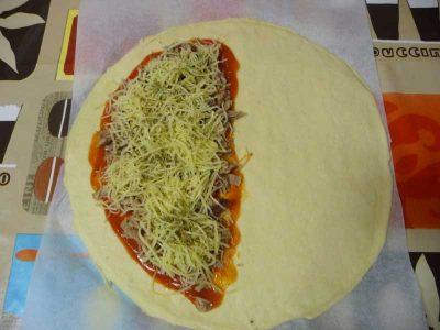 Como hacer pizza calzone de atun Thermomix