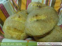 Masa de pan rápida de Thermomix