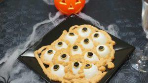 Ojos de Halloween con Thermomix