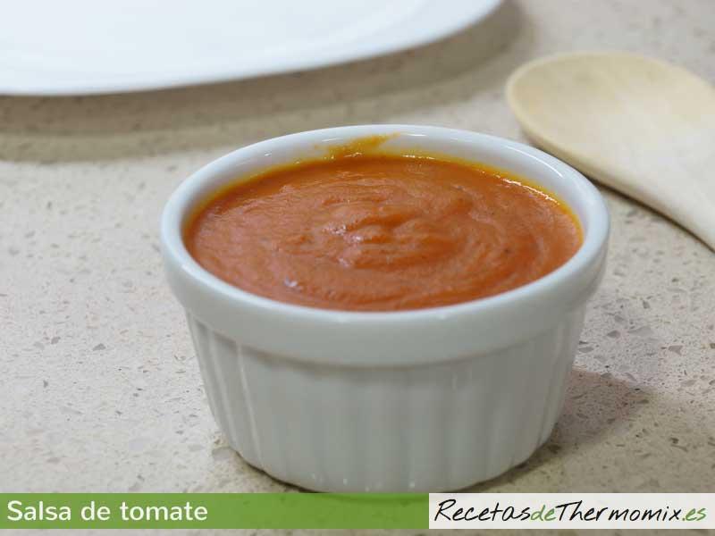 Salsa de tomate Thermomix