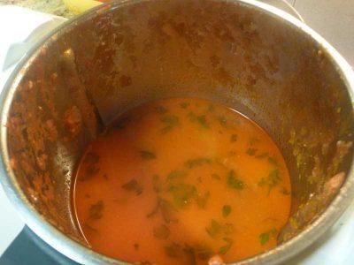Como hacer sopa de gambas con Thermomix